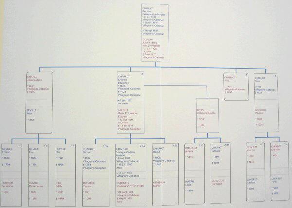 Genealogie - Imprimer arbre genealogique ...
